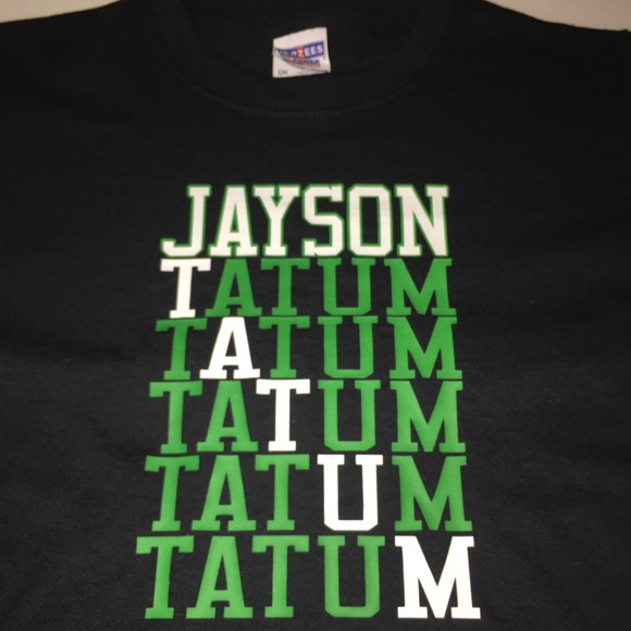 low priced 56538 2be9c Boston Celtics Jayson Tatum Shirt NWT